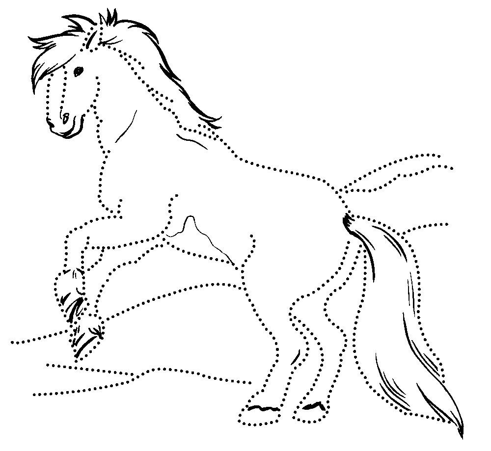 Coloring coloring pages to the tale Sivka burka Sivka burka, horse, painting, print
