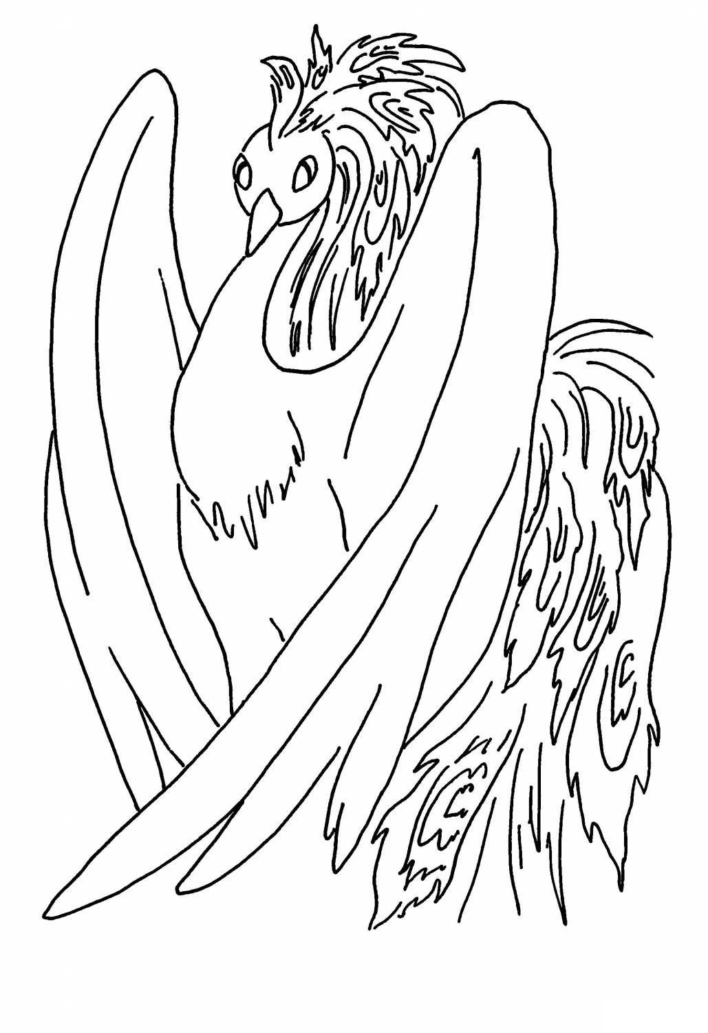 Coloring coloring pages the fairy tale The Little Humpbacked Horse Sunbird, humpback tale horse coloring pages