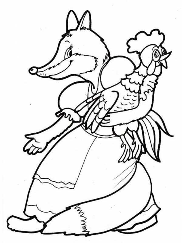 Розмальовки розмальовки до казки золотий півник м, золотий півник казка